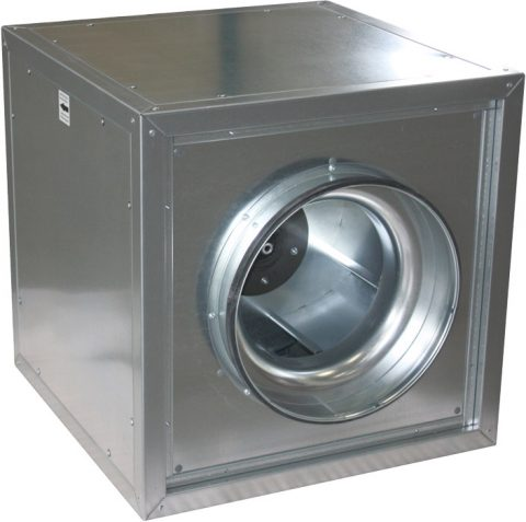 Центробежные вентиляторы дымоудаления Systemair MUB/F