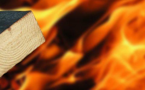 огнезащита древесины различными средствами