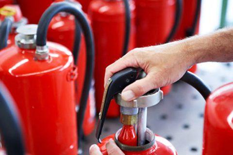 Заправка огнетушителей