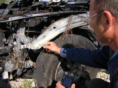 пожарно-техническая экспертиза автомобиля