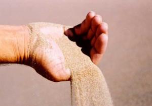Сыпучесть песка