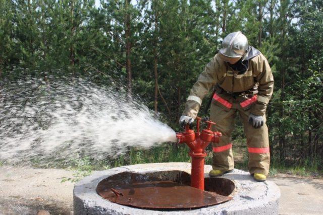 Пожарный колодец