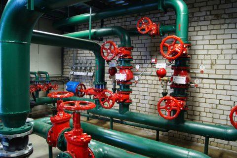 Система внутреннего пожаротушения