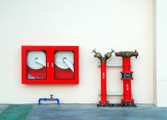 Размещение пожарных шкафов