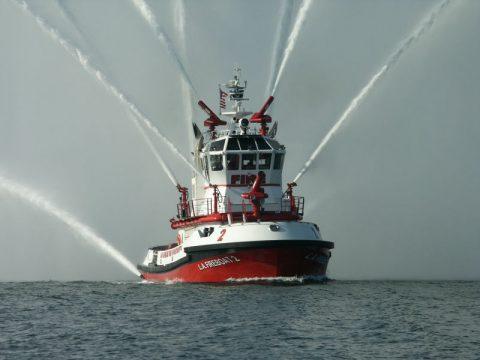 Пожарное судно