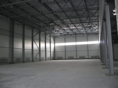 Пустой склад
