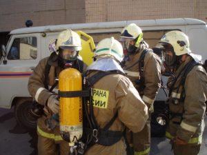 Один из этапов подготовки к разведке пожара