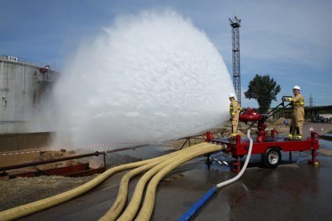 Пожарный лафетный ствол
