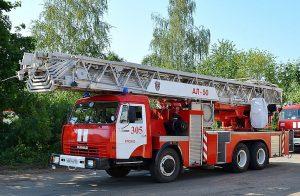 Пожарная автолестница АЛ-50