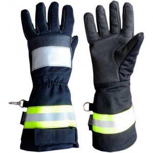 Перчатки пожарного пятипалые