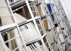 Стеллажи в архиве