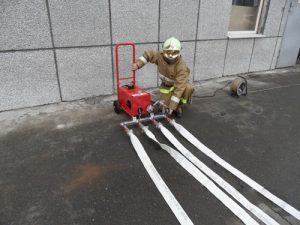 Испытание напорных пожарных рукавов