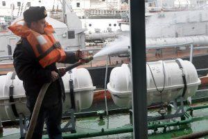 Противопожарная безопасность судна
