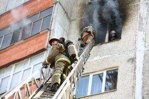 Опасная работа пожарного
