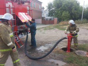 Проверка работоспособности средств пожаротушения