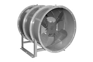 Осевой вентилятор дымоудаления