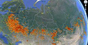 Мониторинг лесных пожаров
