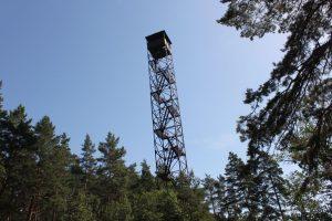 Вышка для мониторинга лесных пожаров