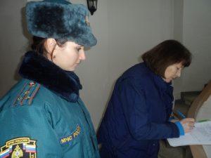 Ответственное лицо подписывает результаты проведения проверки пожарной безопасности