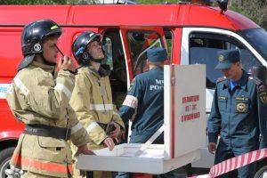 Работа пожарного подразделения