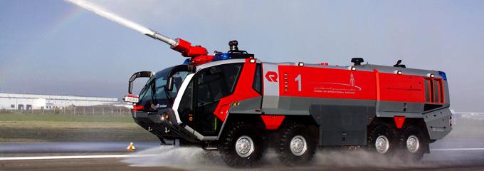 Аэродромный пожарный автомобиль