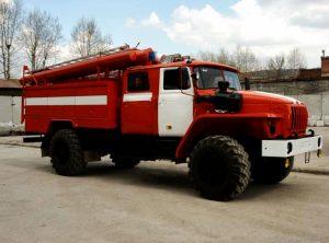 Автоцистерна на базе Урала