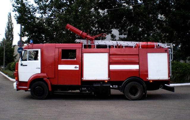 Пожарная автоцистерна на базе КамАЗа