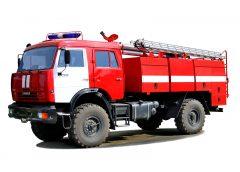 Пожарный КамАЗ