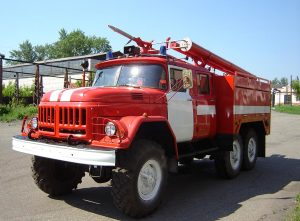 Пожарный ЗИЛ 131