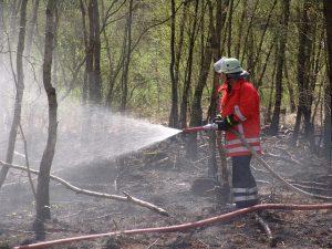 Использование тактики при тушении возгорания