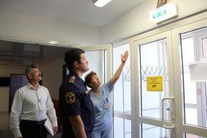 Пожарная безопасность в больнице