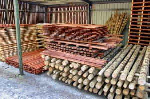 Просушка древесины перед противопожарной обработкой