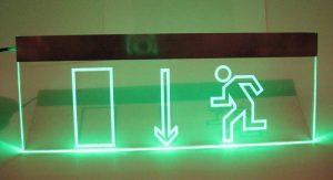 Световой эвакуационный знак