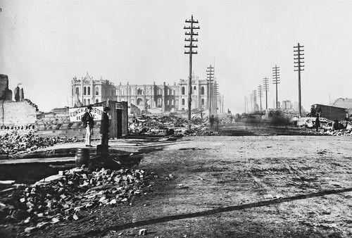 Пожар в Чикаго 1871 г.
