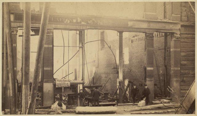 Пожар в Бостоне, 1872