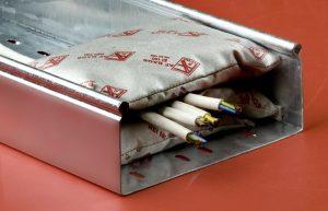 Противопожарная подушка для кабеля