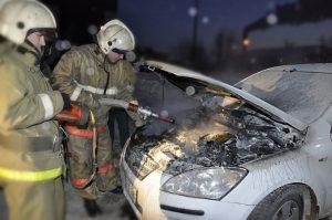 Возгорание в автомобиле