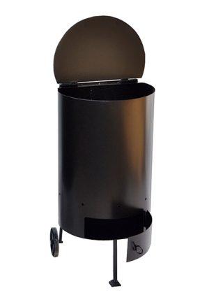 Круглая печь для сжигания мусора