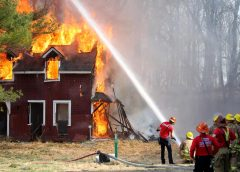 Действия при возгораниях